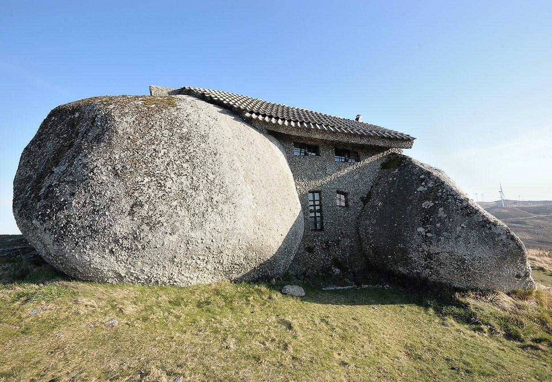 Flintstonehuset i Portugal
