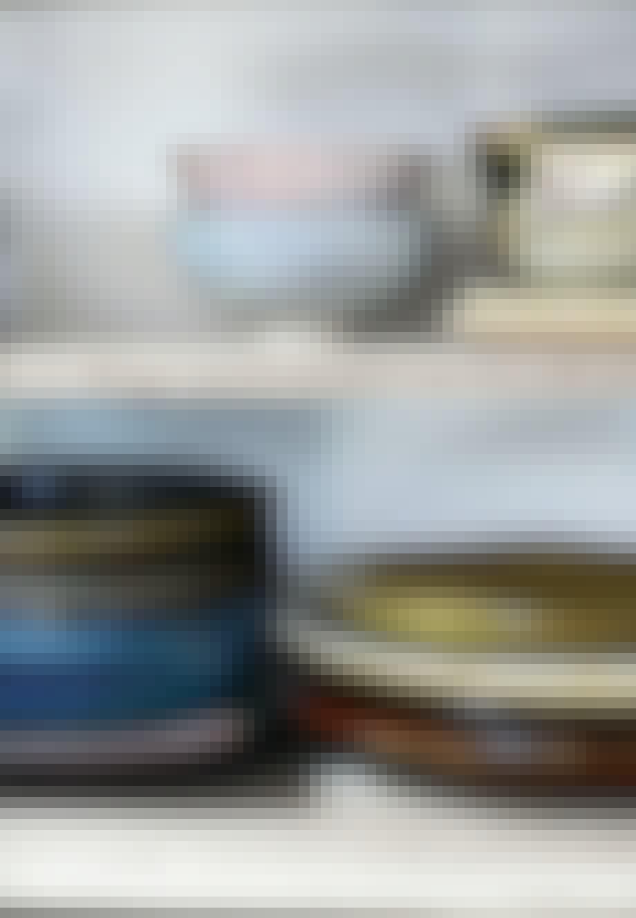 Japanske keramiktallerkener og skåle