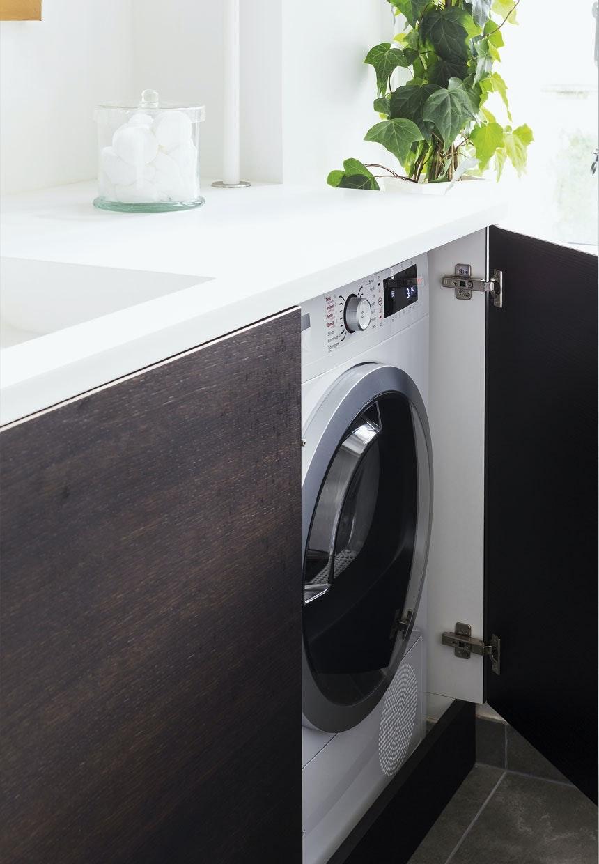 bord til vaskemaskine og tørretumbler