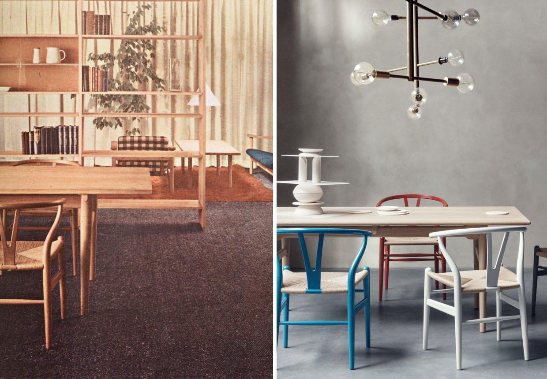Y-stolen tegnet af Wegner