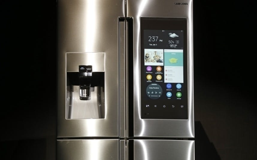 Køleskab der kan bestille nye varer