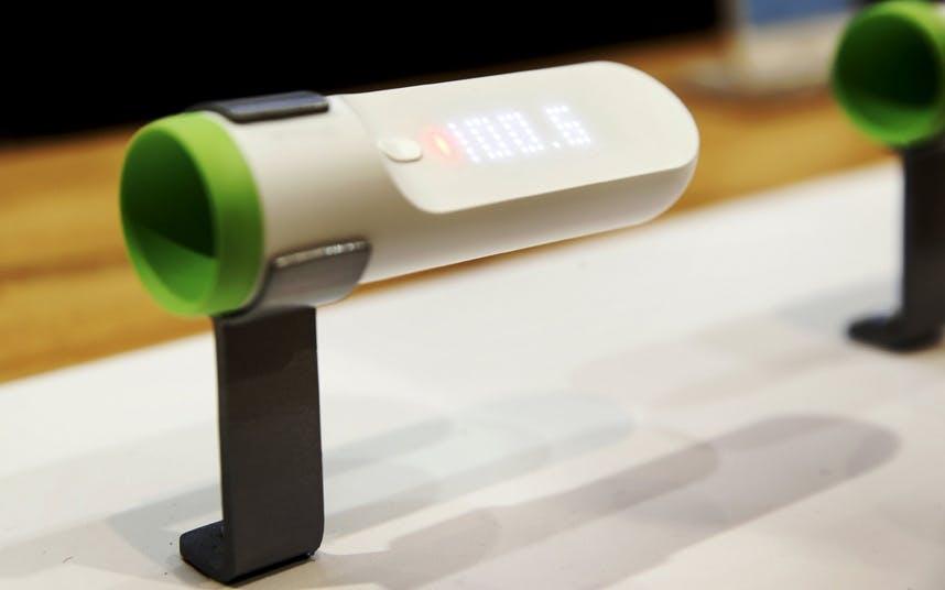 Hurtig og præcis termometer