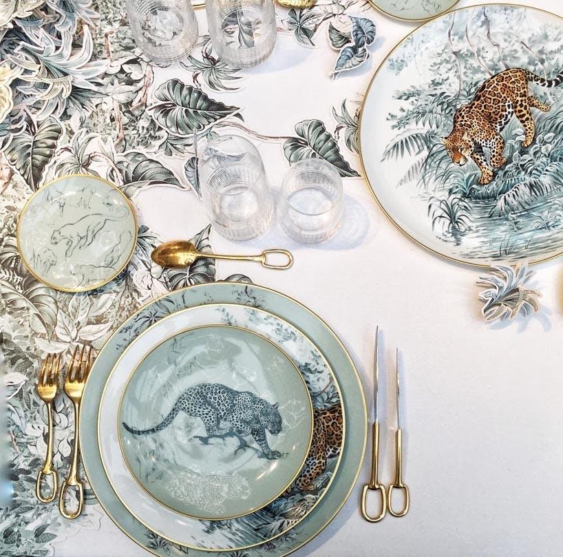 Vildt smukt porcelæn fra Hermès