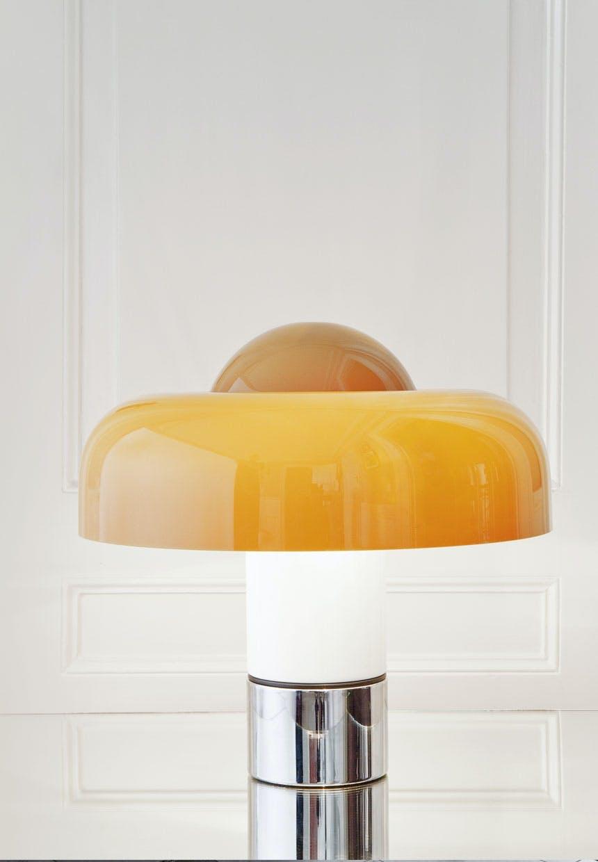 Luigi Massonis Brumbury-lampe fra The Apartment.