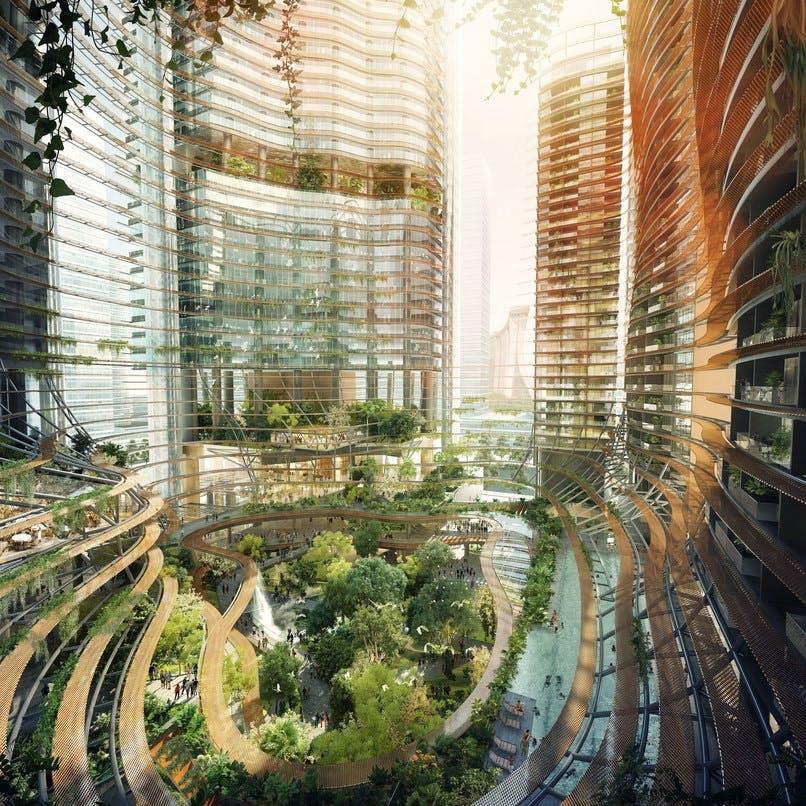 Singapore: Mere end bare et gårdmiljø