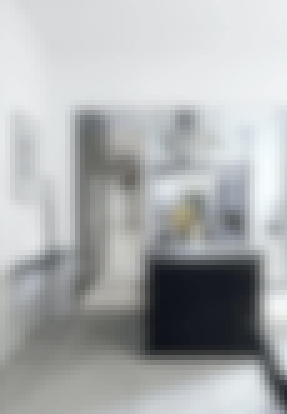 De små værelser i herskabslejligheden