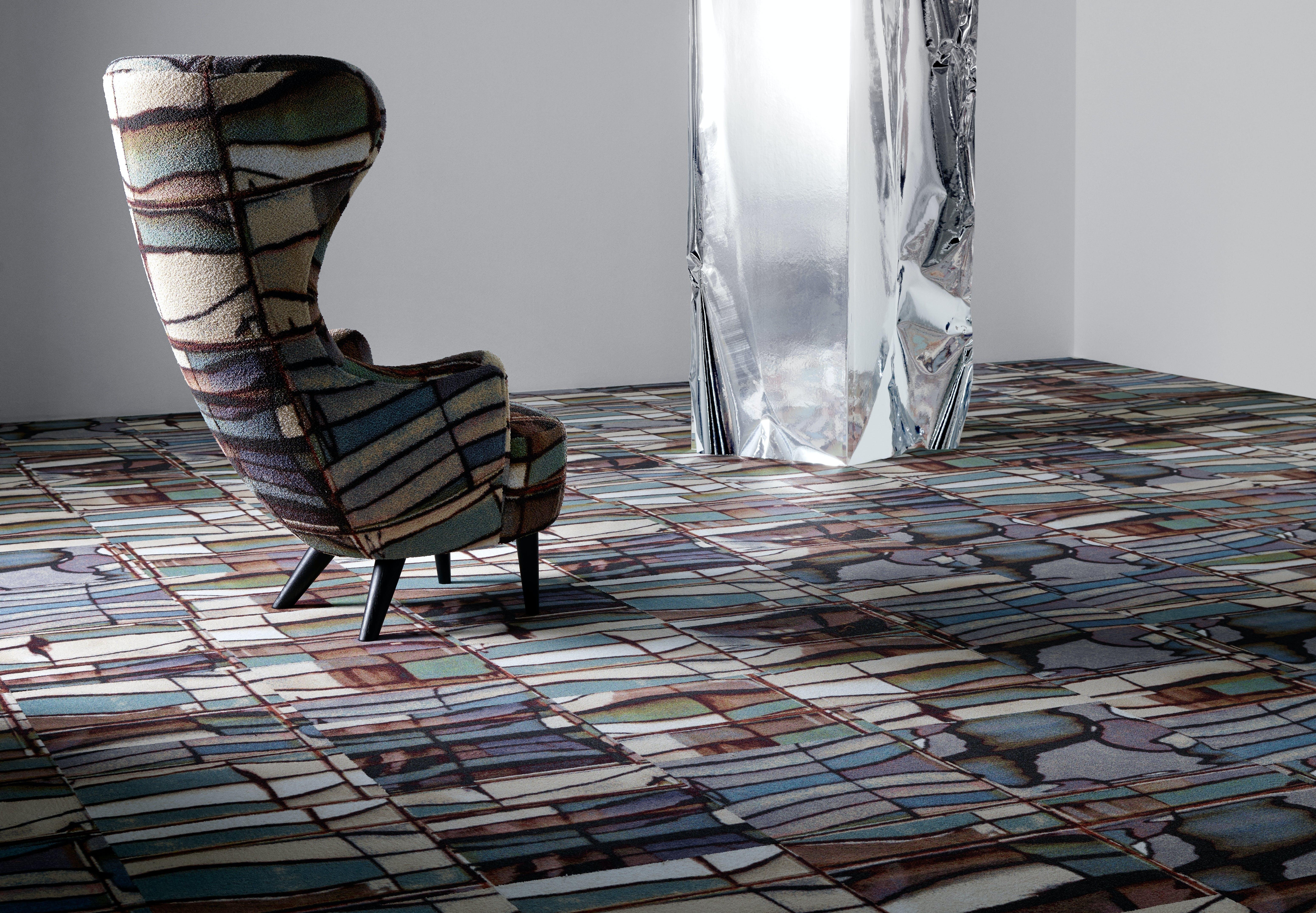 Den nye tæppekollektion Industrial Landscape designet af Tom Dixon for Egetæpper.