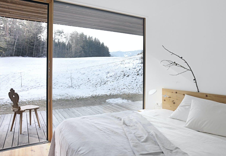 Minimalistisk soveværelse