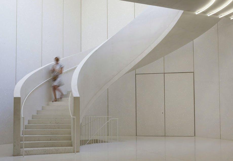 Bøjelig trappe