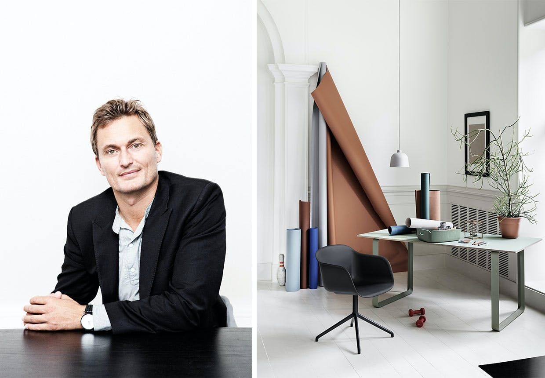 En af mændene bag det banebrydende designbrand Muutu, Kristian Byrge.