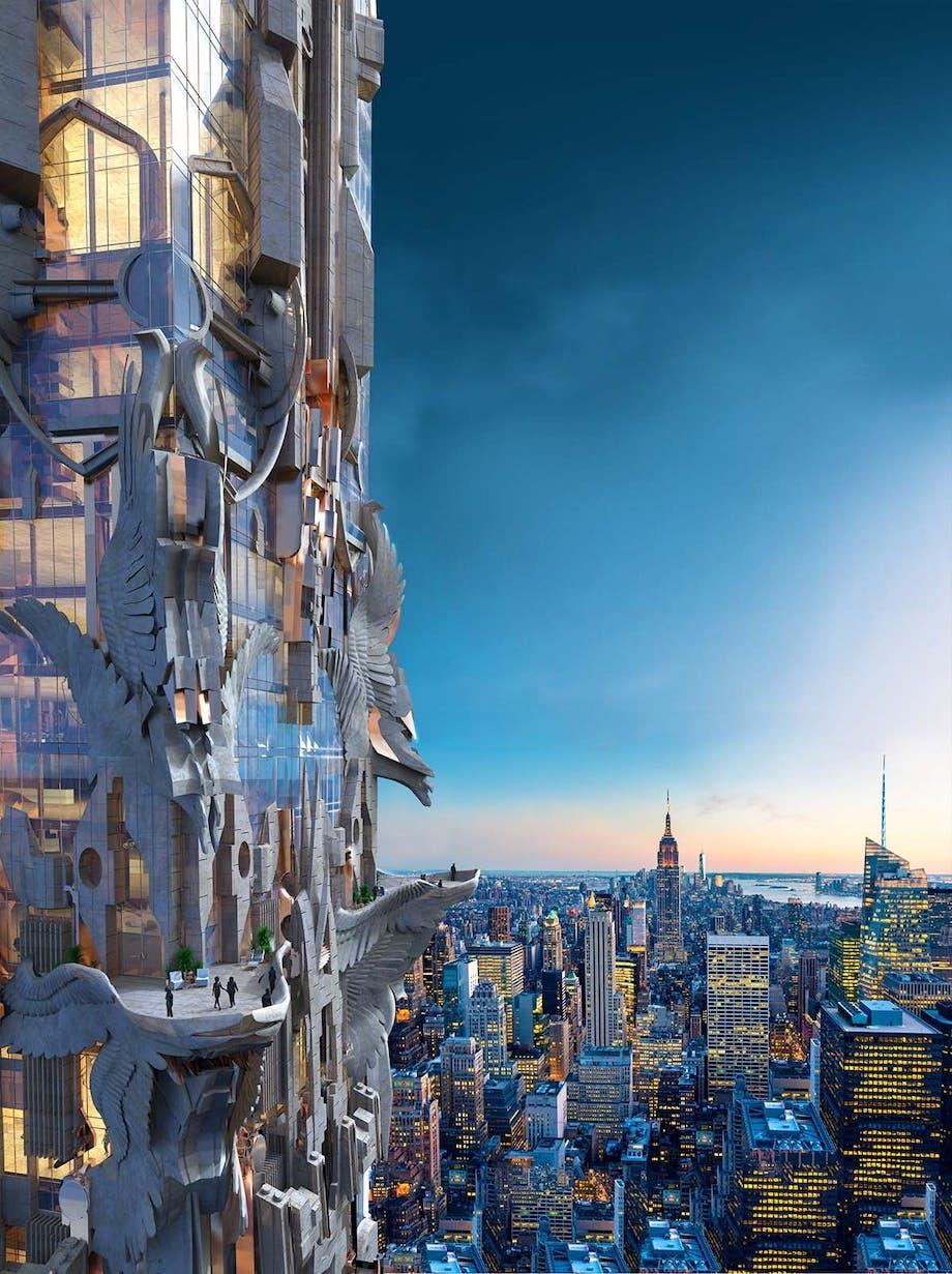 New Yorks skyline bliver aldrig den samme