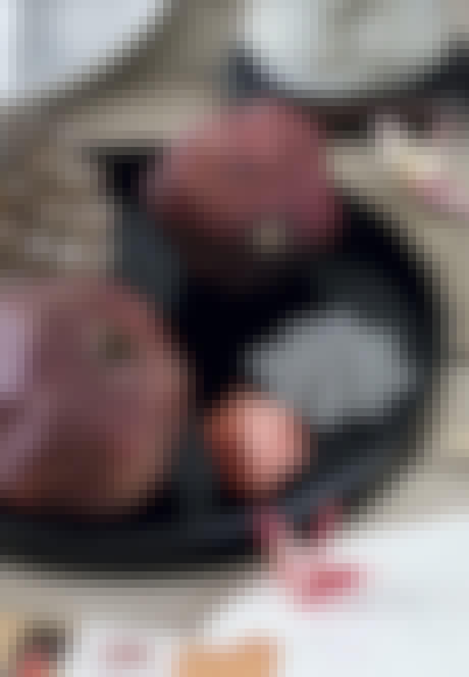Tørrede granatæbler som pynt