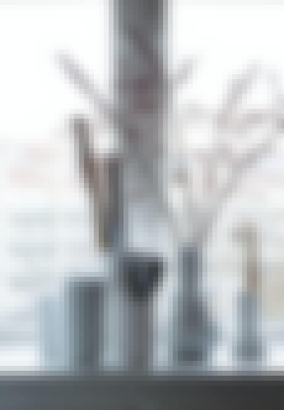 Samling af Lyngbyvaser og vaser fra Finnsdottir