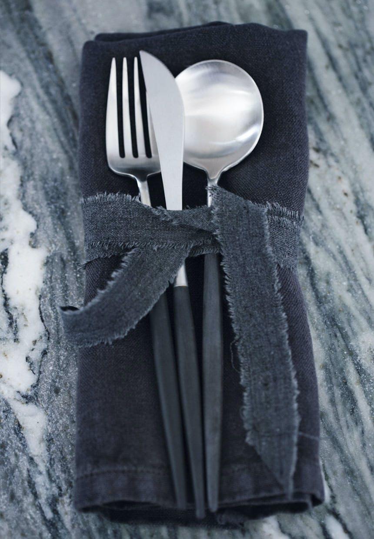 Bestik designet af Arne Jacobsen