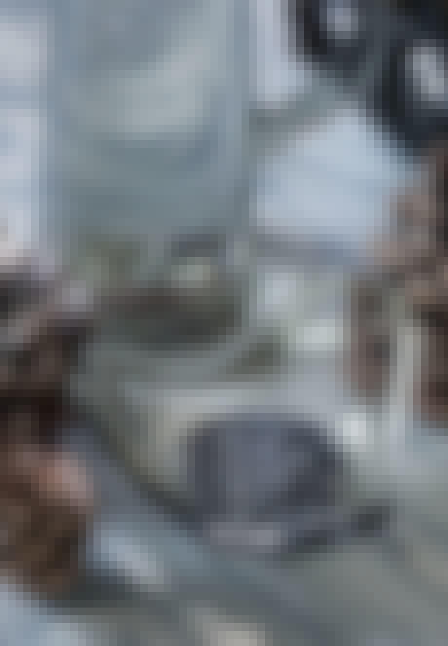 Røgfarvet glas fra Holmegaard