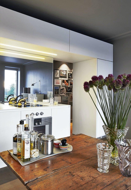 Køkken med luft til loftet