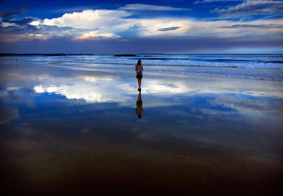 Uvejr over Mollymook Beach