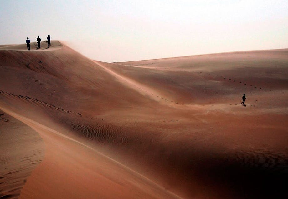 Mauritanian ørkenen