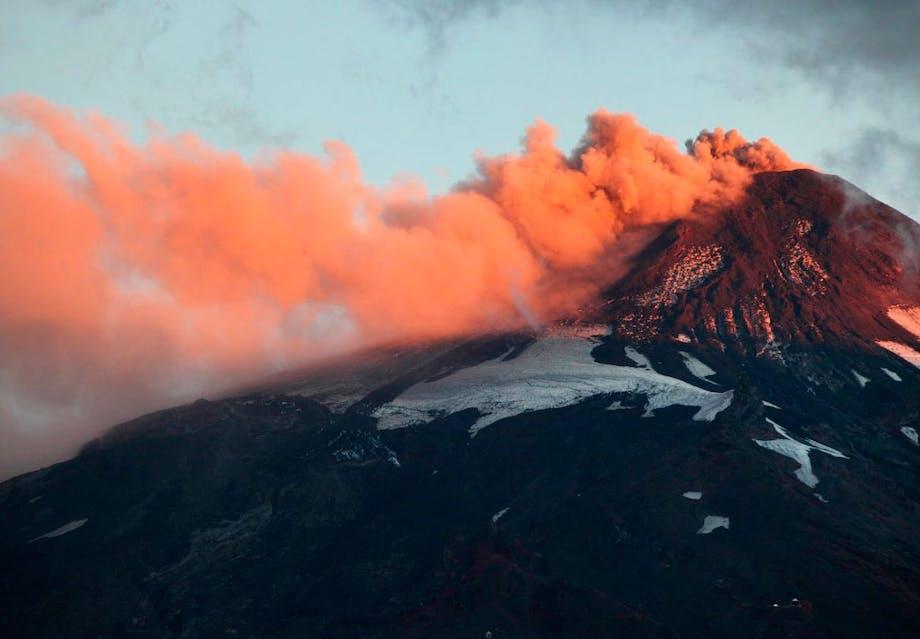 Villarrica vulkanen