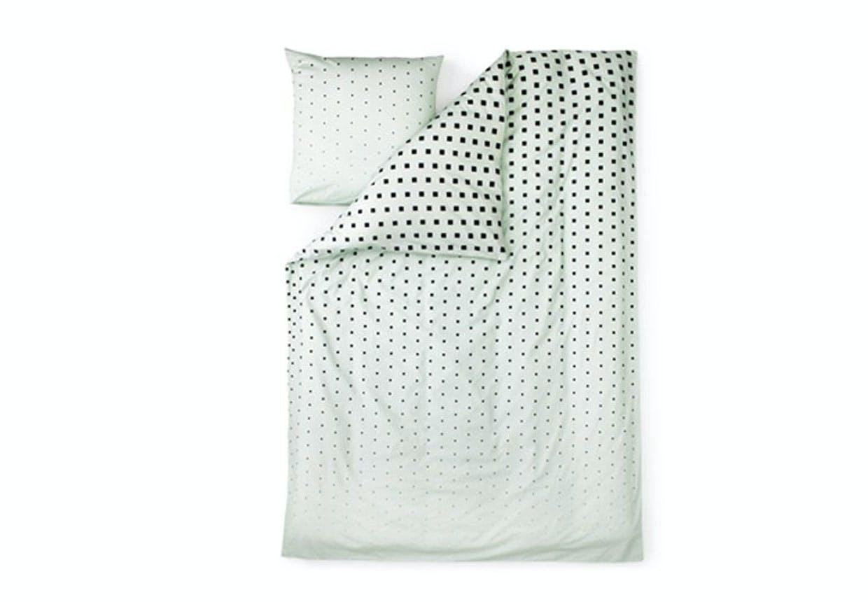 Mintfarvet sengetøj Normann Copenhagen