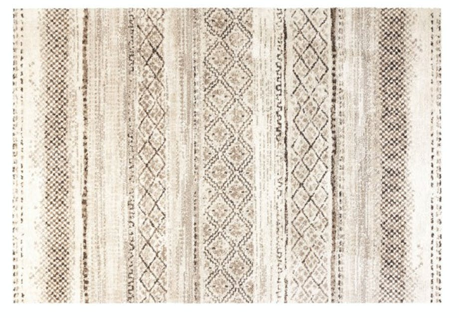 Stort etnisk gulvtæppe
