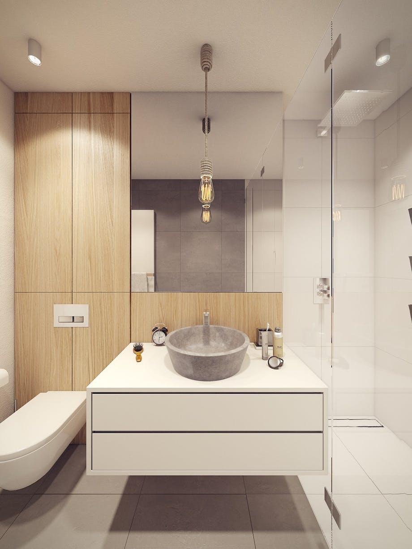 Håndvask i beton