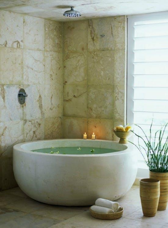 Zen med marmor