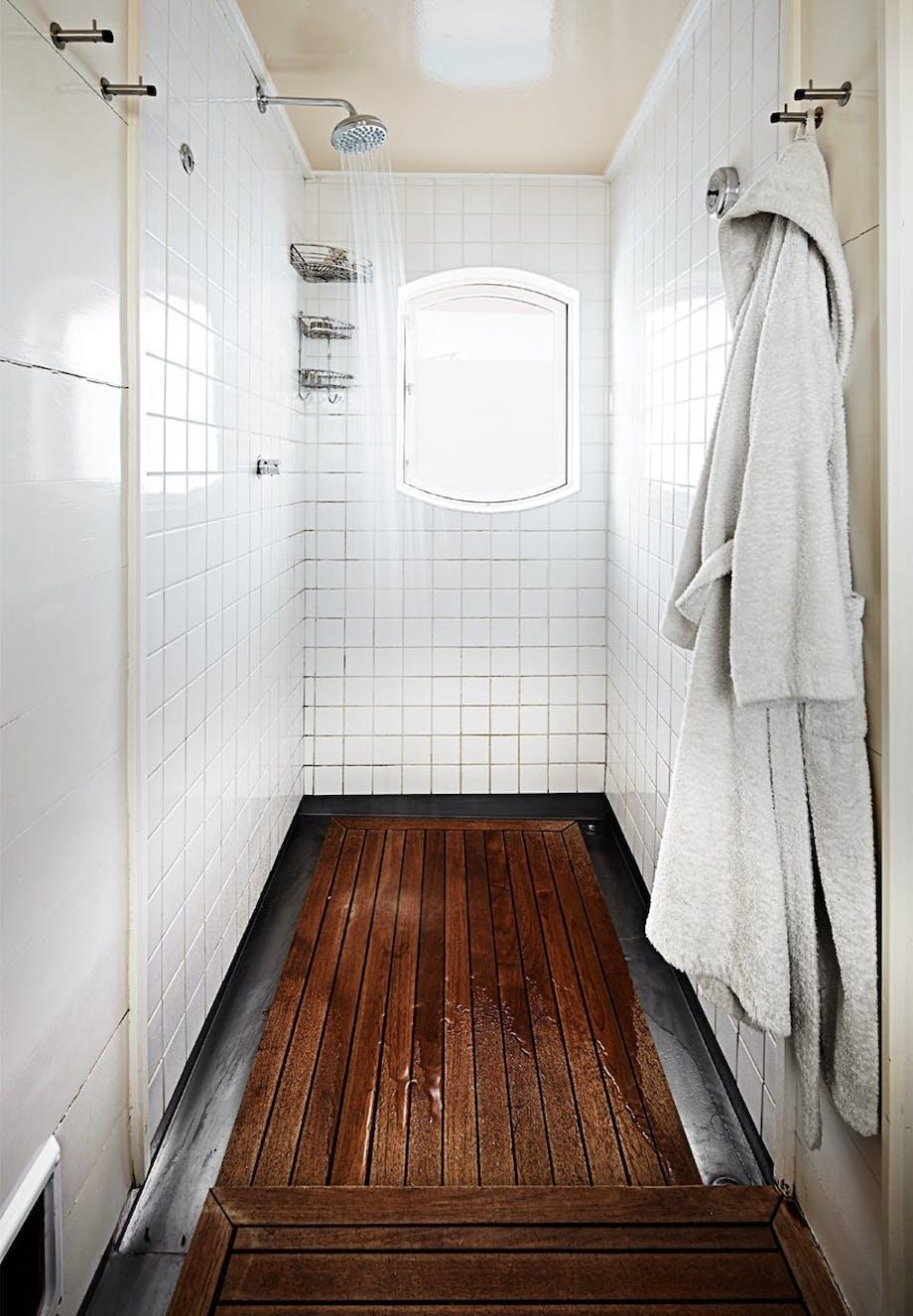 Badeværelset på husbåden