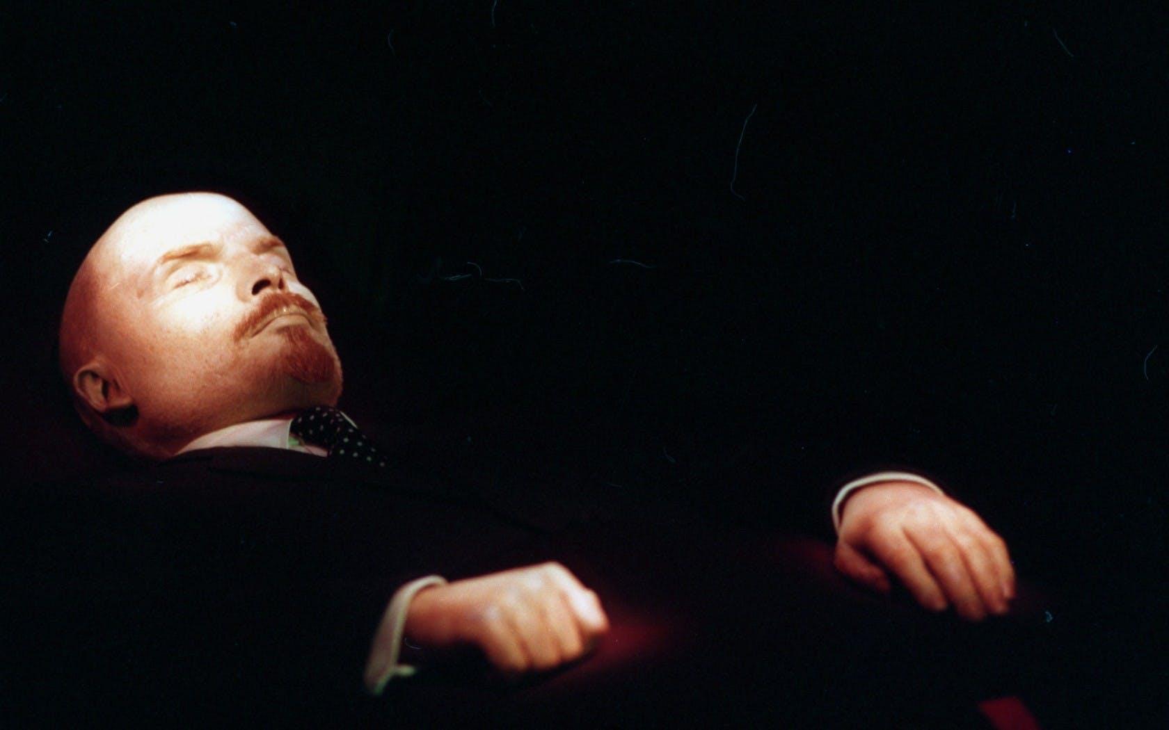 Lenin er godt nok bleg ...