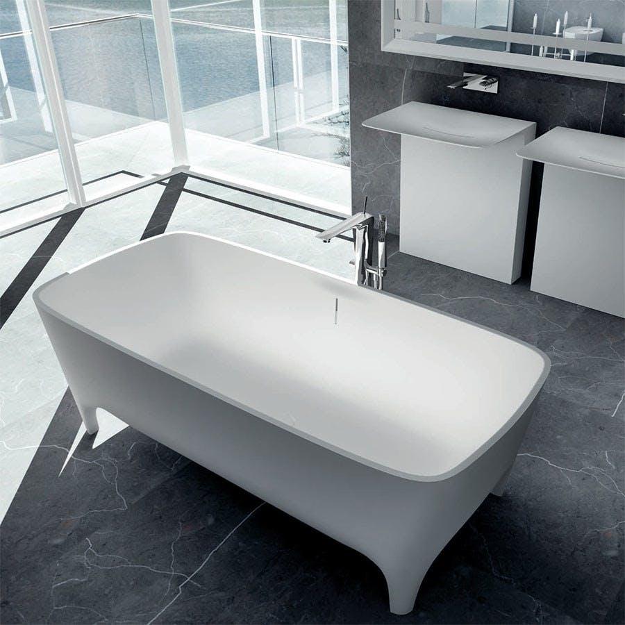 Formstøbt badekar