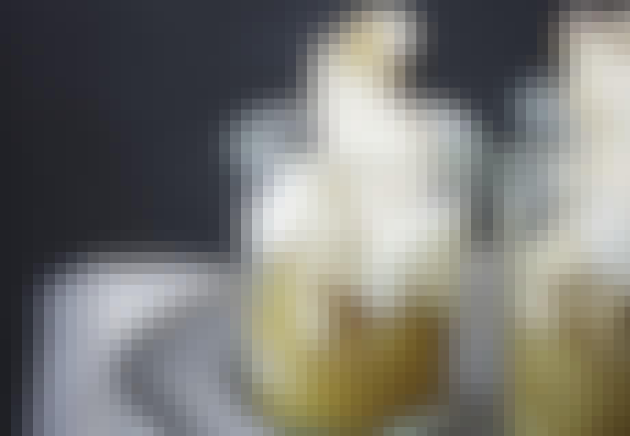 ÆBLEDESSERT I GLAS
