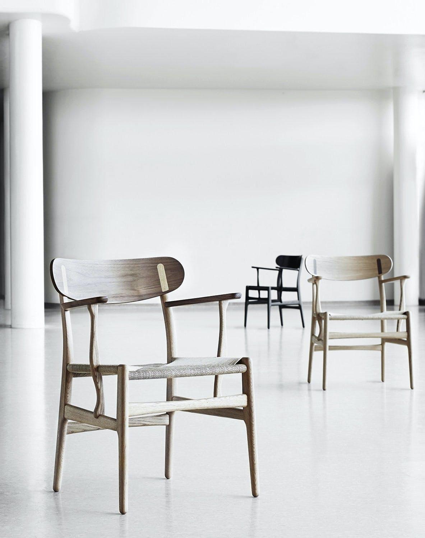 CH26-spisebordsstol af Hans J. Wegner.