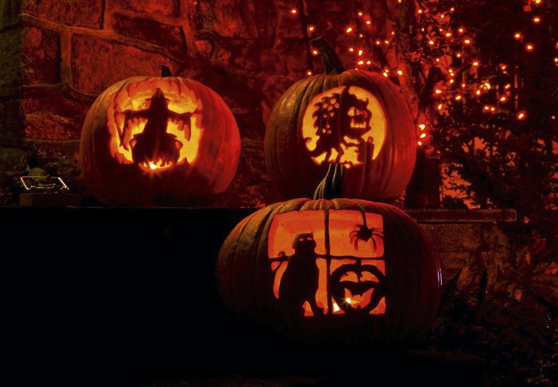 halloweeen græskar udskæring