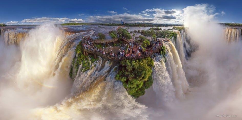 Iguazu - verdens mest forunderlige vandfald