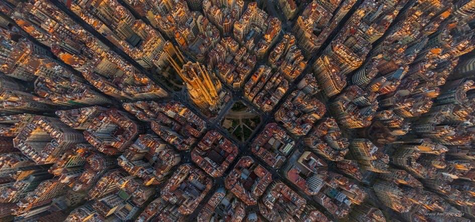 Barcelonas skjulte mønster