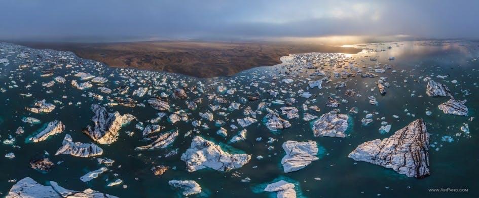 Islands takkede landskab