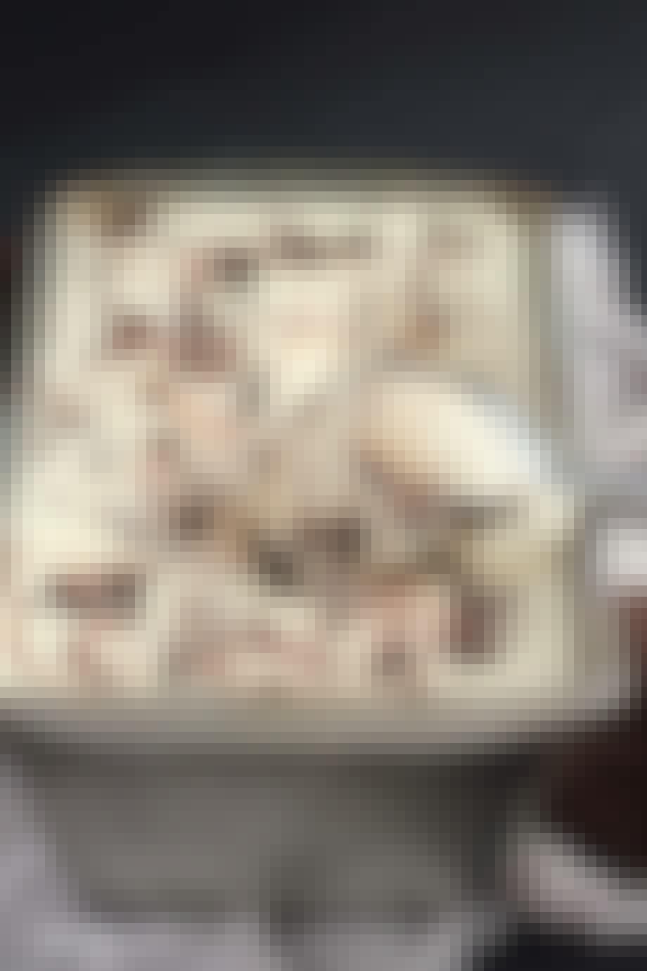 Cookie-is med Nutella
