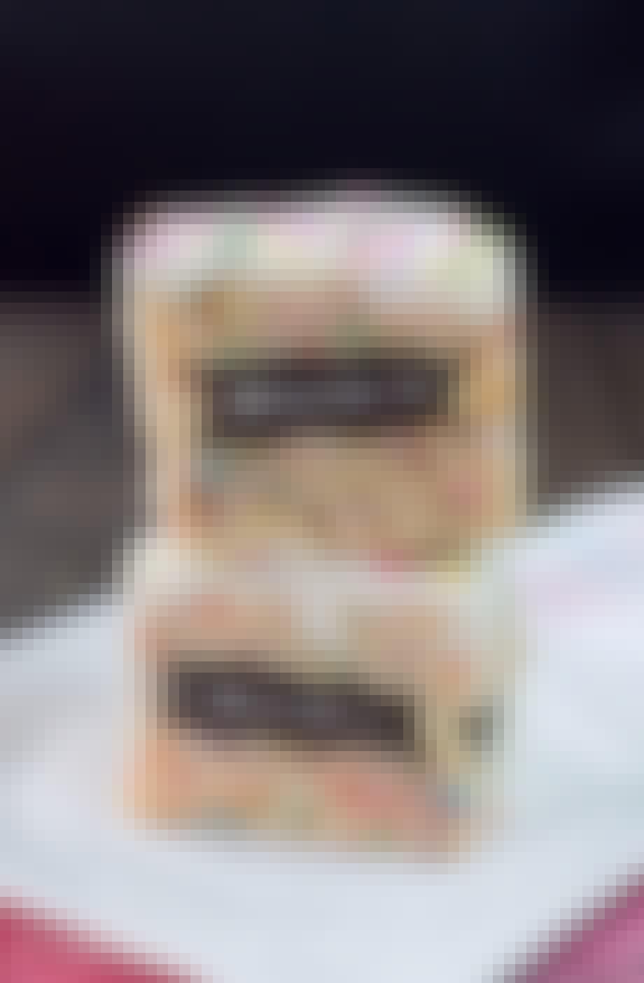 Rice Krispie-kager fyldt med Oreos