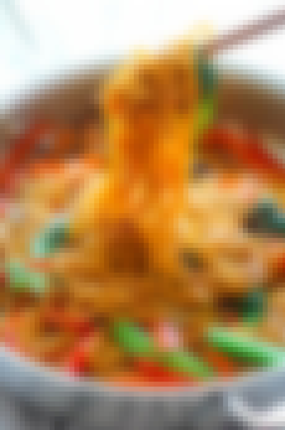 Supernem Lo Mein med grønsager