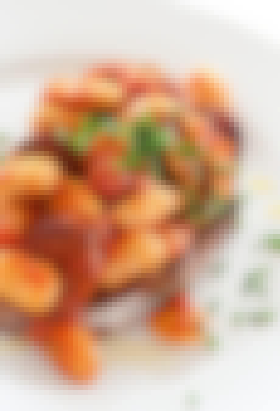 Lækker ret med butterbeans, tomat og chorizo