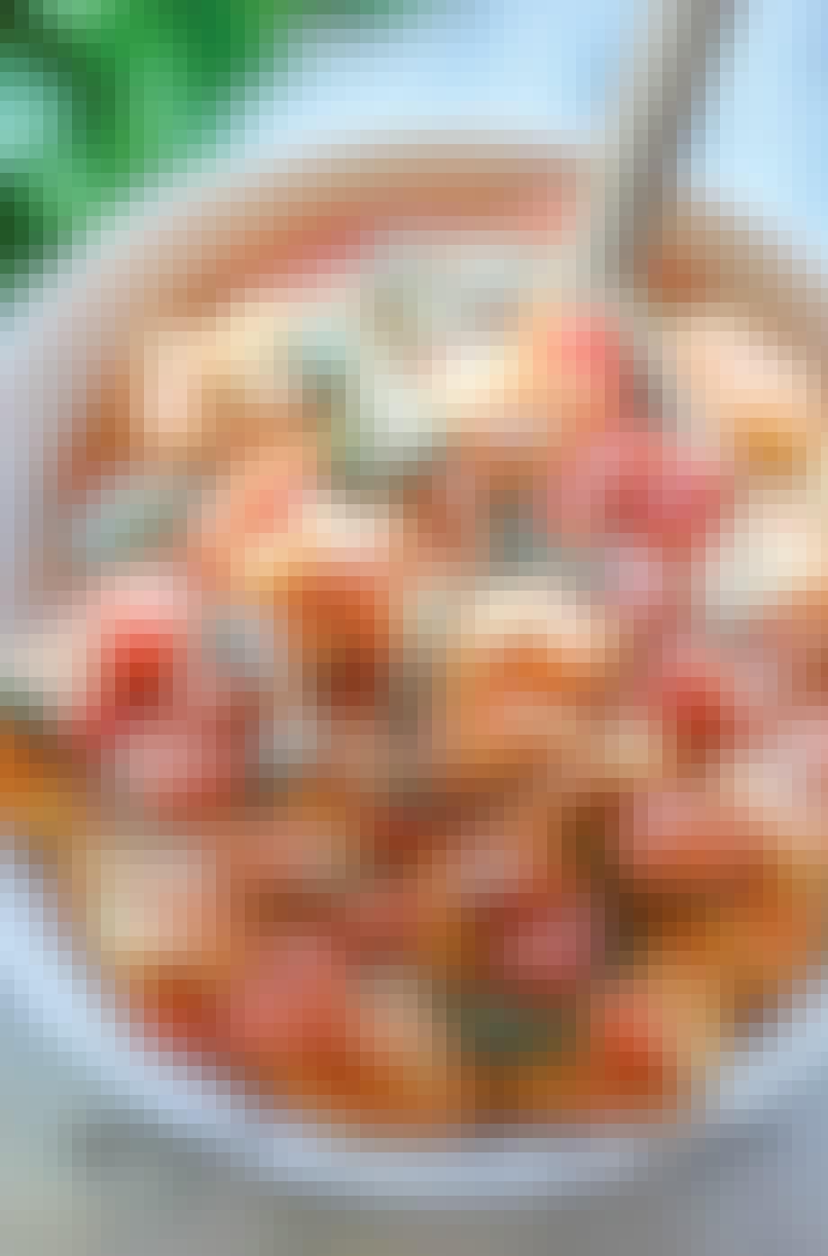 Skøn tortellini med spinat og tomat