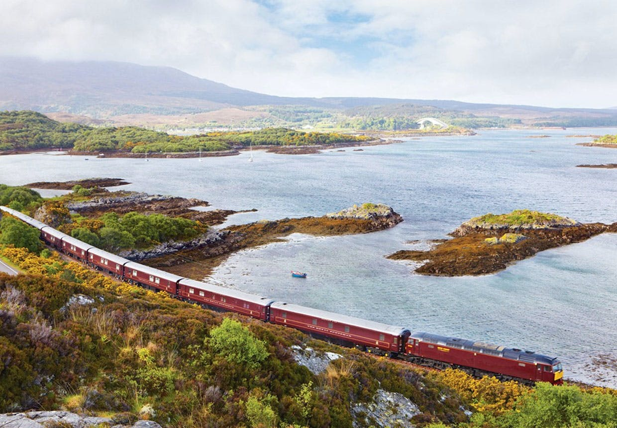 Belmond Royal Scotsman i Skotland