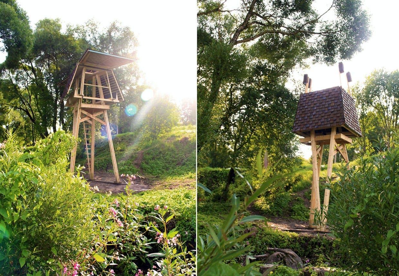 En hytte med udsigt