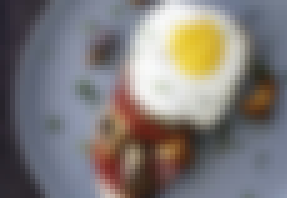 Toast med svampe