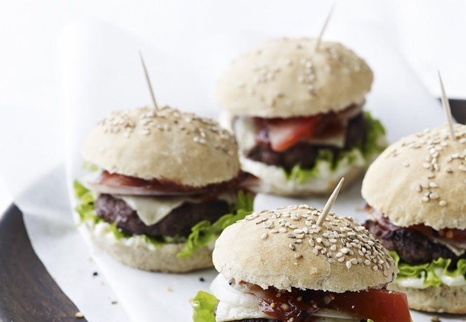 Hjemmelavede miniburgere