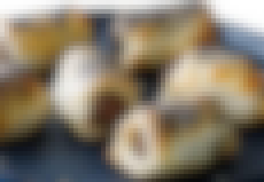 Gourmet pølsehorn