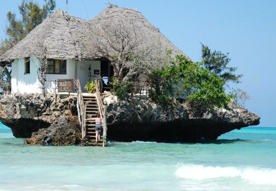 Pas på tidevandet på Zanzibar