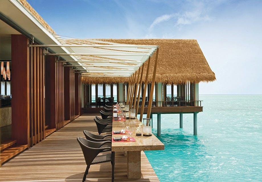 Japansk tapas og solnedgange på Maldiverne