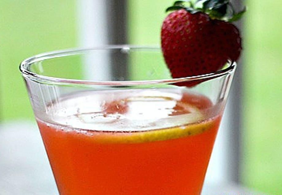 Jordbær-vodka