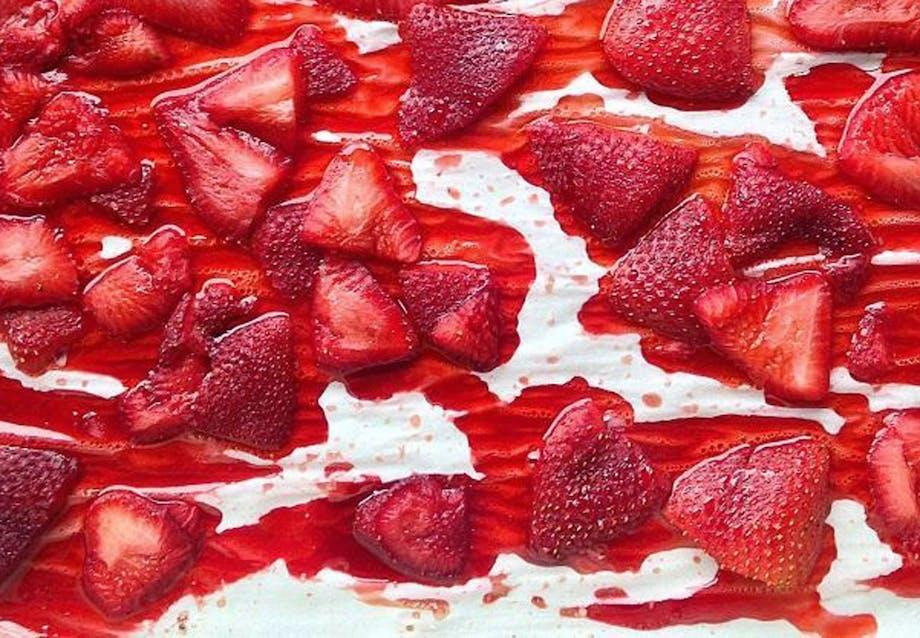 Varme jordbær